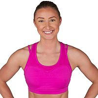 Jockey Sport Bras: Ambition Racerback Medium-Impact Sports Bra 9395