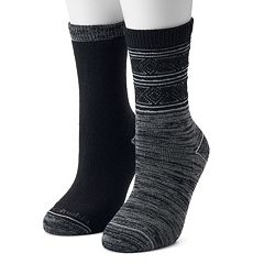 Women's Columbia 2-Pack Diamond Spacedye Crew Socks