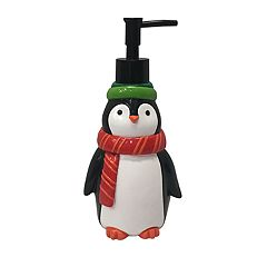 St. Nicholas Square® Holiday Cheer Penguin Soap Pump