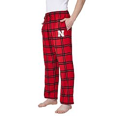 Men's Nebraska Cornhuskers Home Stretch Flannel Pajama Pants