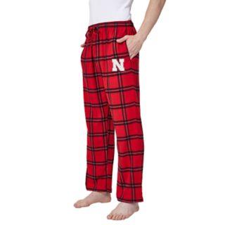 Men's Nebraska Cornhuskers Home Stretch Flannel Pajama Pants