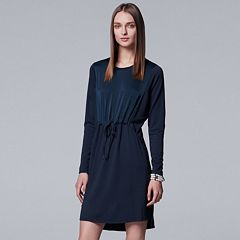 Women's Simply Vera Vera Wang Drawstring Shift Dress