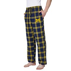 Men's Michigan Wolverines Home Stretch Flannel Pajama Pants