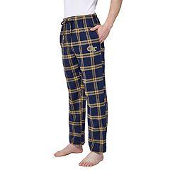 Men's Georgia Tech Yellow Jackets Home Stretch Flannel Pajama Pants