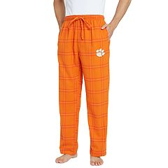 Men's Clemson Tigers Home Stretch Flannel Pajama Pants
