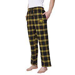 Men's Iowa Hawkeyes Home Stretch Flannel Pajama Pants