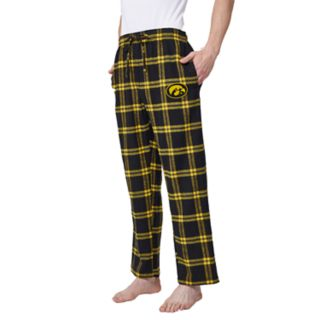 Men's Iowa Hawkeyes Home Stretch Flannel Pajama Pants