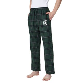 Men's Michigan State Spartans Home Stretch Flannel Pajama Pants