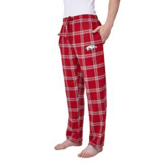 Men's Arkansas Razorbacks Home Stretch Flannel Pajama Pants