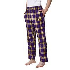 Men's LSU Tigers Home Stretch Flannel Pajama Pants