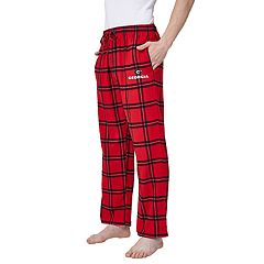 Men's Georgia Bulldogs Home Stretch Flannel Pajama Pants