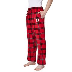 Men's Rutgers Scarlet Knights Home Stretch Flannel Pajama Pants
