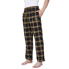 Men's Colorado Buffaloes Home Stretch Flannel Pajama Pants