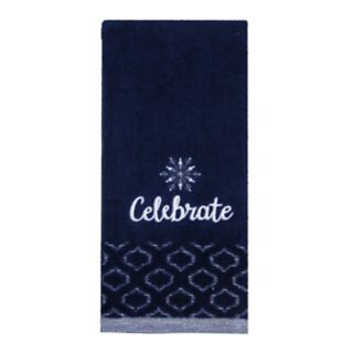 St. Nicholas Square® Christmas Traditions Celebrate Hand Towel