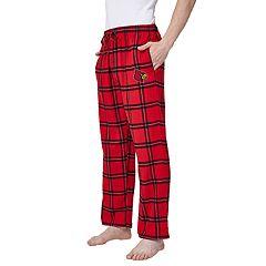 Men's Louisville Cardinals Home Stretch Flannel Pajama Pants