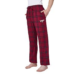 Men's Virginia Tech Hokies Home Stretch Flannel Pajama Pants