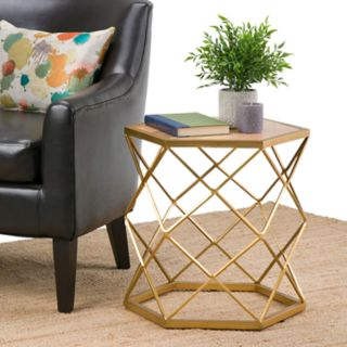 Simpli Home Kristy Accent End Table