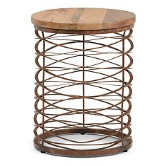 Simpli Home Miley Accent End Table
