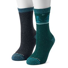 Women's Columbia 2-Pack Tree Crew Socks
