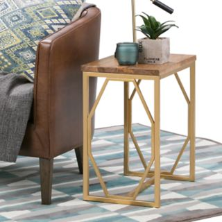Simpli Home Selma Accent End Table