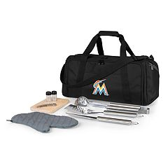 Picnic Time Miami Marlins Barbecue Kit Cooler