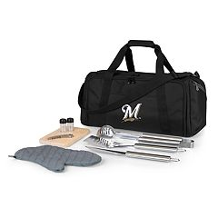 Picnic Time Milwaukee Brewers Barbecue Kit Cooler