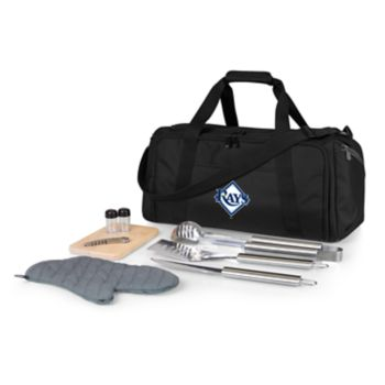 Picnic Time Tampa Bay Rays Barbecue Kit Cooler