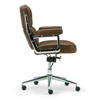 Simpli Home Barton Swivel Office Chair
