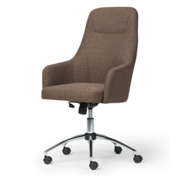 Simpli Home Jules Swivel Office Chair