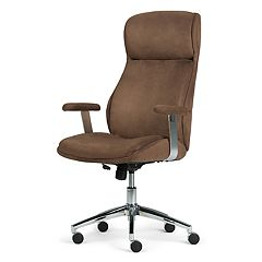 Simpli Home Melbourne Swivel Office Chair