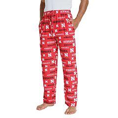 Men's Nebraska Cornhuskers Midfield Pajama Pants