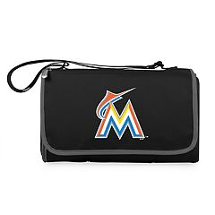 Picnic Time Miami Marlins Blanket Tote