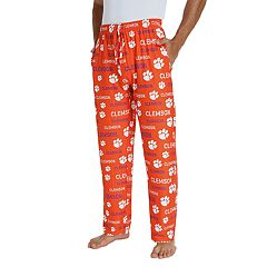 Men's Clemson Tigers Midfield Pajama Pants
