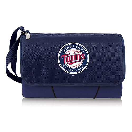 Picnic Time Minnesota Twins Blanket Tote