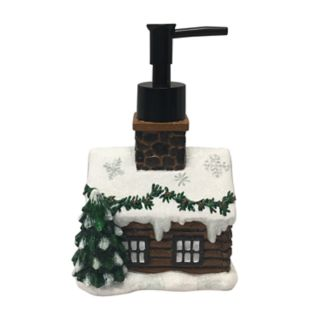St. Nicholas Square® Through The Woods Cabin Soap Pump