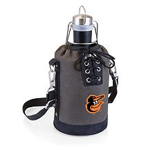 Picnic Time Baltimore Orioles Insulated Growler Tote with 64-Ounce Growler