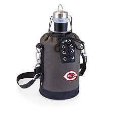 Picnic Time Cincinnati Reds Insulated Growler Tote with 64-Ounce Growler