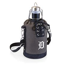 Picnic Time Detroit Tigers Insulated Growler Tote with 64-Ounce Growler