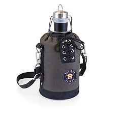Picnic Time Houston Astros Insulated Growler Tote with 64-Ounce Growler