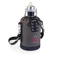 Picnic Time Los Angeles Angels of Anaheim Insulated Growler Tote with 64-Ounce Growler