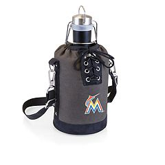 Picnic Time Miami Marlins Insulated Growler Tote with 64-Ounce Growler