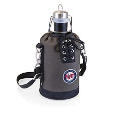Picnic Time Minnesota Twins Insulated Growler Tote with 64-Ounce Growler