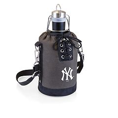 Picnic Time New York Yankees Insulated Growler Tote with 64-Ounce Growler