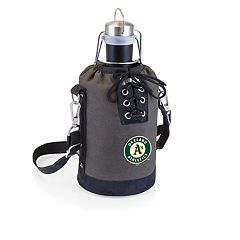 Picnic Time Oakland Athletics Insulated Growler Tote with 64-Ounce Growler