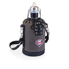 Picnic Time Philadelphia Phillies Insulated Growler Tote with 64-Ounce Growler