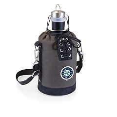 Picnic Time Seattle Mariners Insulated Growler Tote with 64-Ounce Growler