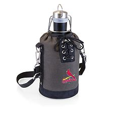Picnic Time St. Louis Cardinals Insulated Growler Tote with 64-Ounce Growler