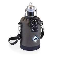 Picnic Time Tampa Bay Rays Insulated Growler Tote with 64-Ounce Growler