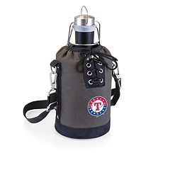 Picnic Time Texas Rangers Insulated Growler Tote with 64-Ounce Growler