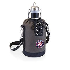 Picnic Time Washington Nationals Insulated Growler Tote with 64-Ounce Growler